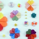 折り紙クローバー