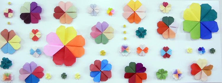 飾り 折り紙 美味しいレシピ ... : クリスマス壁飾り折り紙 : 折り紙