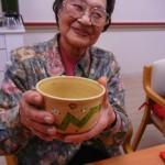 巳のお茶碗で年女をお祝い。