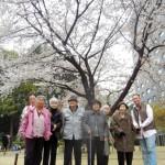 桜タワーにて。