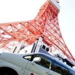 東京タワーとinana car